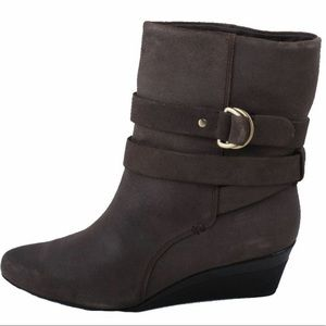 Circa Joan & David Grayton Suede Booties